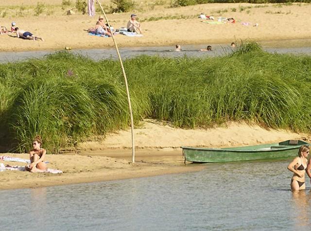 camping Les Portes de Sancerre baignade rivière Loire-2