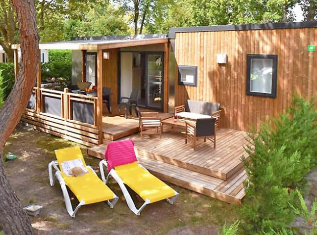 Mobil-home Biscarosse Camping Le Bimbo-3