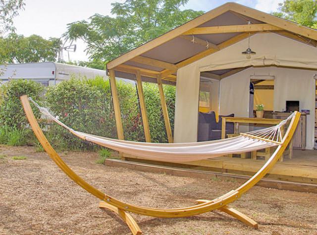 Camping Altéa Bungalow toilé Vic La Guardiole-3