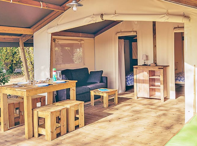 Camping La Pointe du Talud tente lodge-4