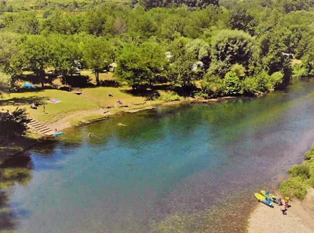 camping Le Saint Michelet rivière Cèze-2