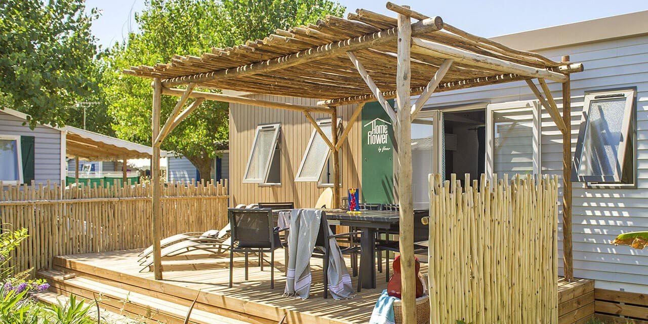 camping mobil-home premium homeflower
