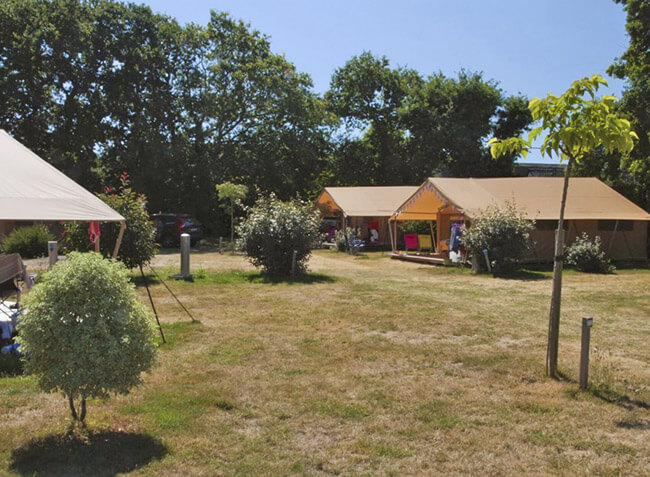 camping Le Cabellou Plage tente lodge Free Flower-6