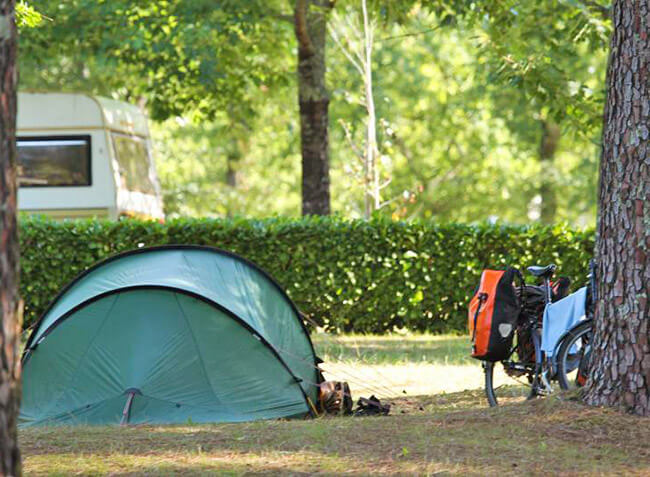 camping Le Galan emplacement tente-5