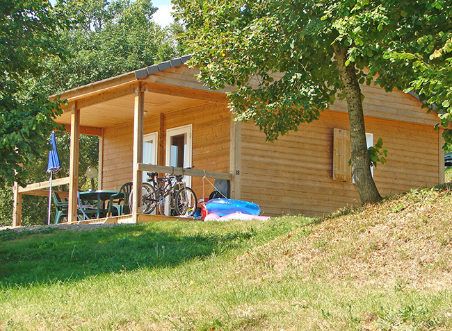 camping Le Lac du Causse location de chalet-4