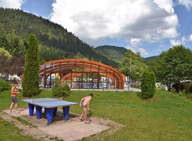 Camping Verte Valle  Xonrupt Longemer   Vosges Lorraine