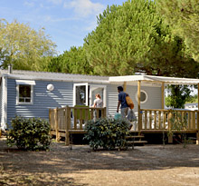 location mobil-home île de Ré