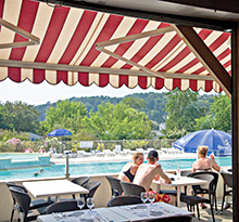 camping terrasse